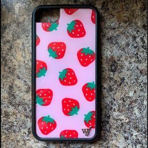 iPhone 7 wild flower case